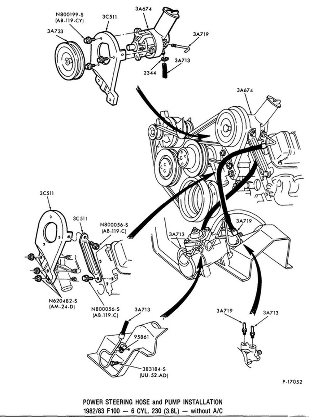 power steering illustrations