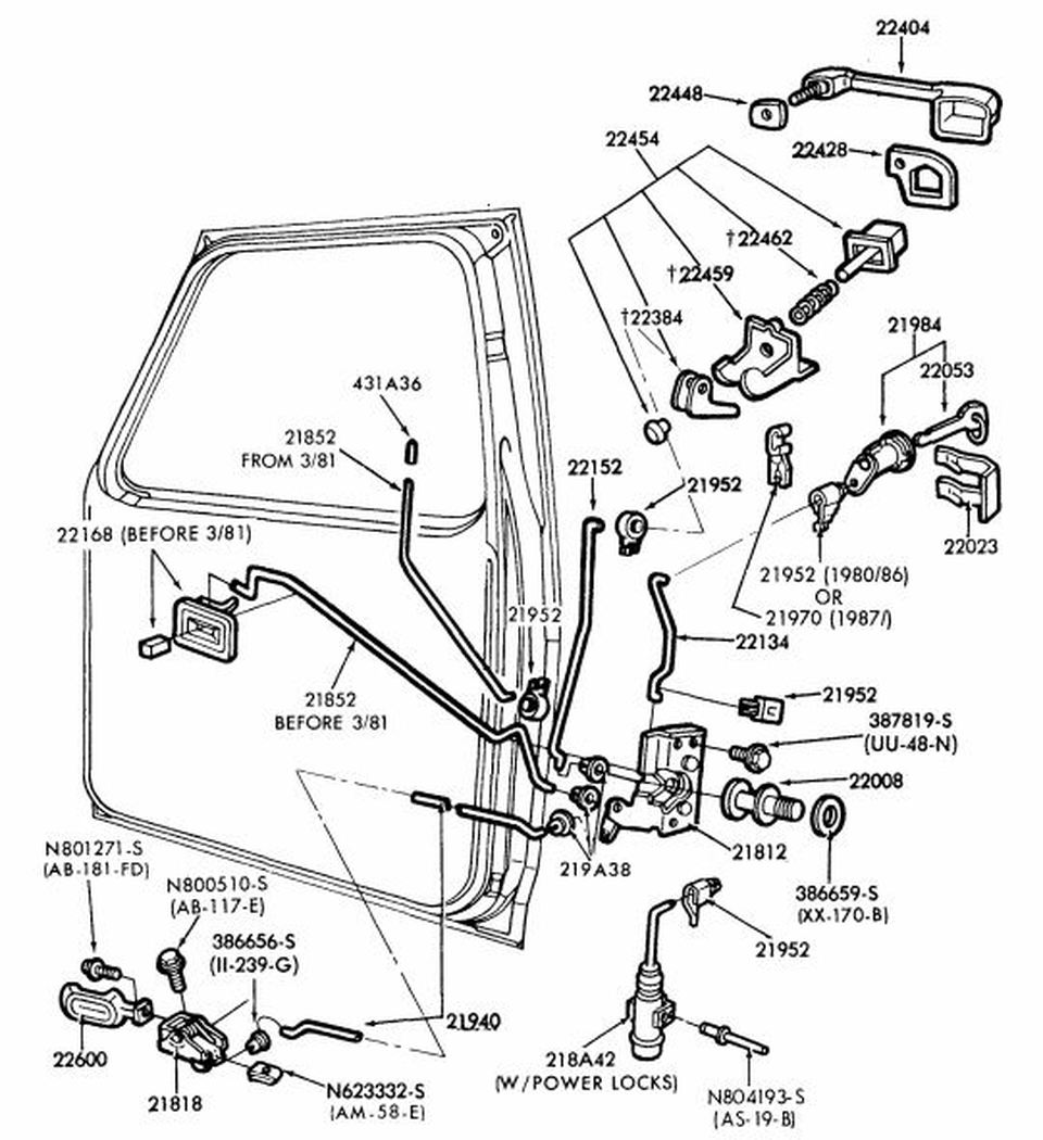 1984 Ford F 250 Parts Diagram Door • Wiring Diagram For Free