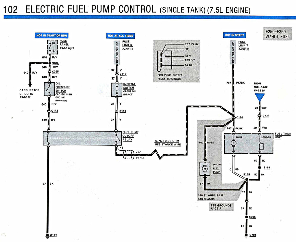 Electric Fuel Pump Control - The Bullnose Bible