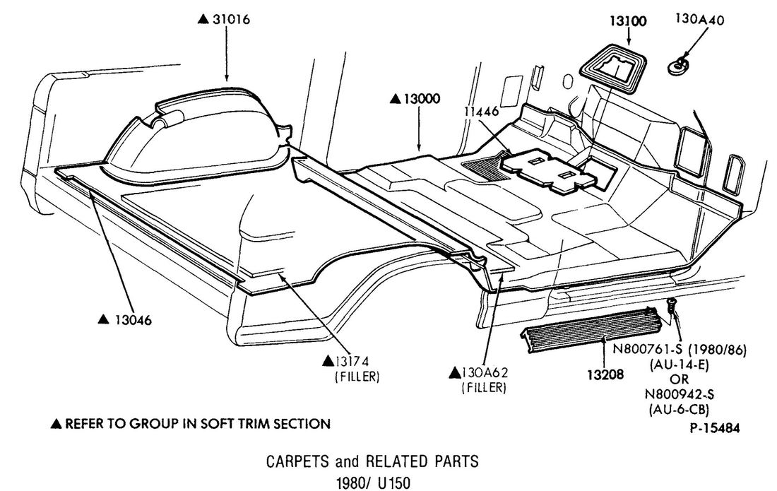Carpet And Related Parts